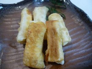 チーズの包み揚げおつまみレシピ