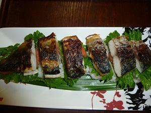 激うま!焼き鯖寿司♪
