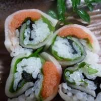 明太子大根の巻き寿司の絶品レシピ