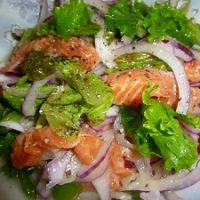野菜たっぷり!サーモンマリネの作り方レシピ!【栄養たっぷり】